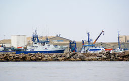 Walvisbay Harbour Royalty Free Stock Photos