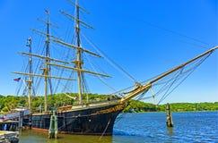 Walvisvangstschip Charles W morgan royalty-vrije stock foto's