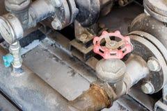 Walw spin steel industry object Royalty Free Stock Photo