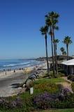 Walzing Along w losie angeles Jolla, Kalifornia II Obrazy Royalty Free