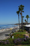 Walzing entlang in La Jolla, Kalifornien II Lizenzfreie Stockbilder