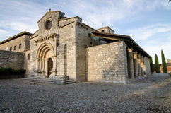 Wamba Romanesque church Stock Image