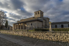 Wamba Romanesque church Royalty Free Stock Image