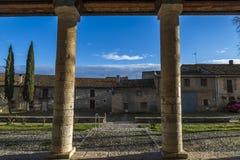 Wamba Romanesque church Royalty Free Stock Photography