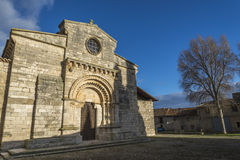 Wamba Romanesque church Stock Photography