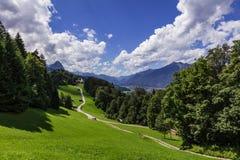Wamberg kaplica blisko Garmisch Partenkirchen Obrazy Royalty Free