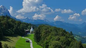 Wambergdorp, Beieren, Duitsland stock videobeelden