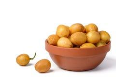 Wampee fruit Royalty Free Stock Images