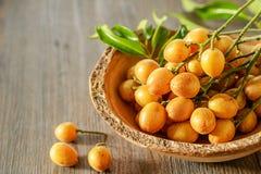 Wampee frukt Arkivfoto