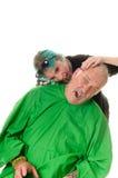 Wampira fryzjer Obrazy Royalty Free