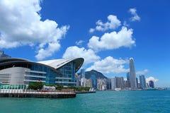 Wan Chai in Hong Kong Royalty Free Stock Photo