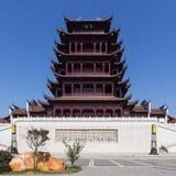 Wan Lou-de bouw royalty-vrije stock afbeeldingen