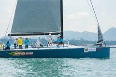 Wan Ma Rang Platu class sailors Royalty Free Stock Photo
