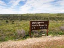 Wanagarren自然保护,西澳州 库存图片