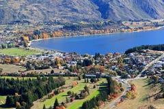 Wanaka,南岛新西兰 免版税库存照片