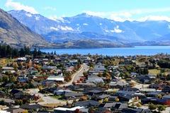Wanaka, νότιο νησί Νέα Ζηλανδία Στοκ φωτογραφία με δικαίωμα ελεύθερης χρήσης