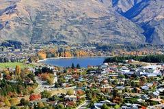 Wanaka, νότιο νησί Νέα Ζηλανδία Στοκ Φωτογραφία