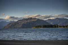 湖Wanaka 图库摄影