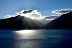 湖Wanaka 库存图片