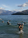 Wanaka Challenge iron man race Stock Photos