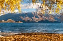 Wanaka del lago Fotografía de archivo libre de regalías