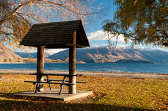 Wanaka do lago Imagens de Stock