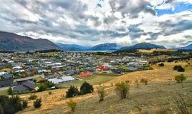 Wanaka Epicka lokacja Fotografia Royalty Free