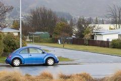 WANAKA GRODZKI NOWA ZELANDIA, WRZESIEŃ - 5: błękitny volk swaken samochodu pa Obraz Stock