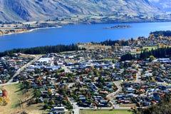 Wanaka, ilha sul Nova Zelândia Foto de Stock Royalty Free