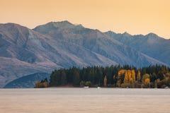 Wanaka jezioro Obrazy Stock
