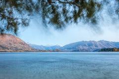 Wanaka jezioro Fotografia Royalty Free