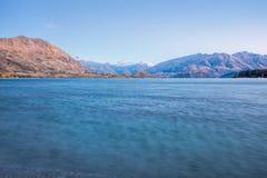Wanaka jezioro Fotografia Stock