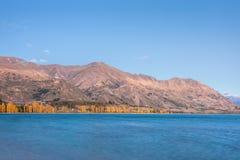 Wanaka jezioro Zdjęcia Royalty Free