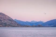 Wanaka jezioro Zdjęcie Royalty Free