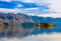 Wanaka lake royalty free stock photo