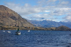 Wanaka Lake Royalty Free Stock Photo