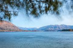 Wanaka Lake Royalty Free Stock Photography