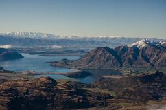 Wanaka lake,  New Zealand Stock Photography