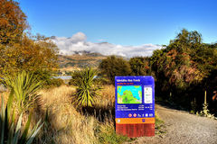 Wanaka Lake Track, New Zealand Stock Photos