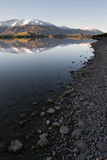 Wanaka Lakeshore Reflection Stock Images