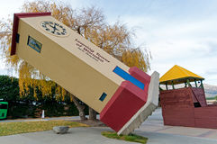 Puzzling World in Wanaka Town New Zealand Stock Photography