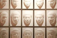 Wanaka, Nieuw Zeeland - Febr 5, 2015: zaal van het volgende van gezichten bij In verwarring brengende wereld Royalty-vrije Stock Afbeeldingen