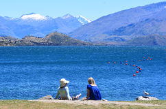 Wanaka, Nowa Zelandia - Zdjęcia Stock