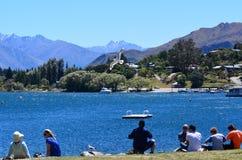 Wanaka, Nowa Zelandia - Obrazy Stock