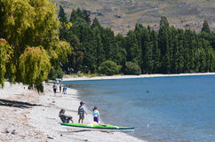 Wanaka, Nowa Zelandia - Obrazy Royalty Free