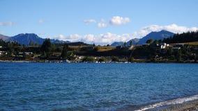Wanaka, Nueva Zelandia almacen de metraje de vídeo