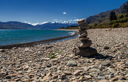 Wanaka See-Südinsel Neuseeland Lizenzfreie Stockbilder
