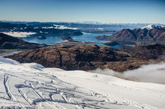 Wanaka ski resort New Zealand Royalty Free Stock Photo