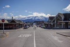 WANAKA TOWN NEW ZEALAND-SEPTEMBER 5:wanaka is a ski and summer r Royalty Free Stock Image