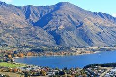 Wanaka, Zuideneiland Nieuw Zeeland Royalty-vrije Stock Foto's